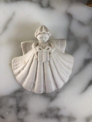 "Margaret Furlong 3 "" GIFT Angel Porcelain Ornament"