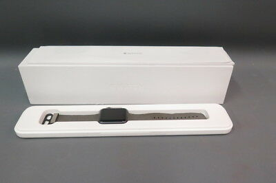Apple iWatch Sport 1st Gen 42mm Case 7000 Series Space Gray Ion-X MMFR2LL/A