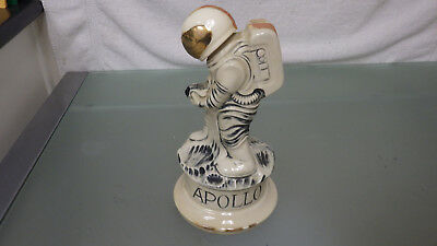 "Vtg 1968-1970 Simms APOLLO Astronaut Figure 12"" Decanter * NASA McCoy Pottery"
