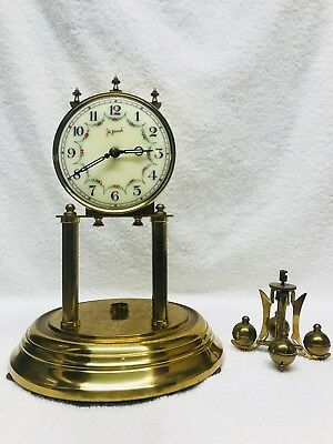 Vintage John Wanamaker Anniversary Clock For Parts Or Restore Only
