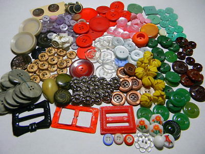 Huge Lot of Vintage Unused Buttons~Mostly Sets~Casein~Metal~Pearl~Glass++ (A97)