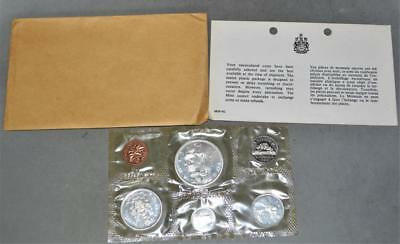 Canada 1966 Silver Uncirculated Mint Set 6 Coins