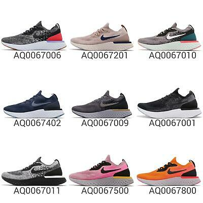 185bf205455c6 Nike Epic React Flyknit Mens Cushion Lightweight Running Shoes Trainers  Pick 1