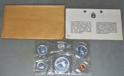 Canada 1967 Silver Confederation Centennial Uncirculated Mint Set 6 Coins