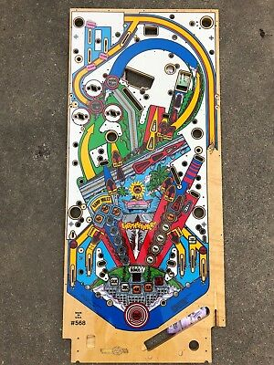 Earthshaker Playfield (Silver Grade) by CPR (Classic Playfield Reproduction) NOS