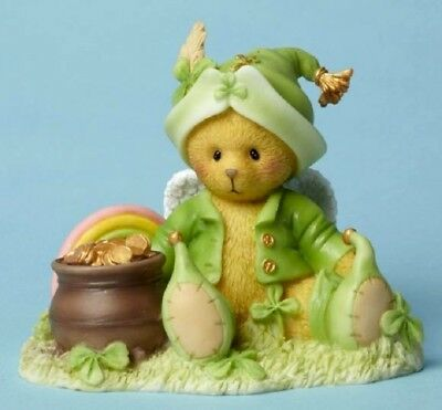 "Cherished Teddies ""rylan ~ Have A Sham-Rocking Day"" 4051037 New *  Free Shipping"