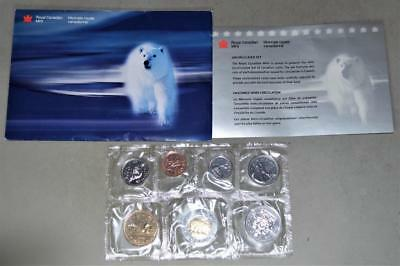 Canada 1999 Uncirculated Mint Set 7 Coins