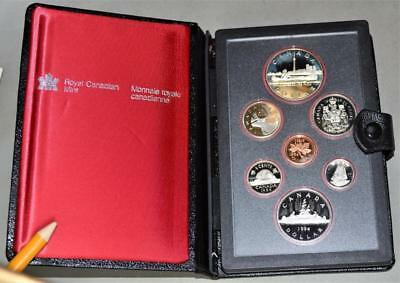 Canada 1984 Proof Set - With Toronto Sesquicentennial Silver Dollar