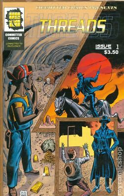Threads (Committed Comics) #1 2002 VG Stock Image Low Grade