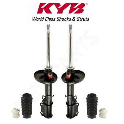 Pair Set of 2 Rear KYB Susp Strut Bumpers and Bellows Kit for Audi Chevy Subaru