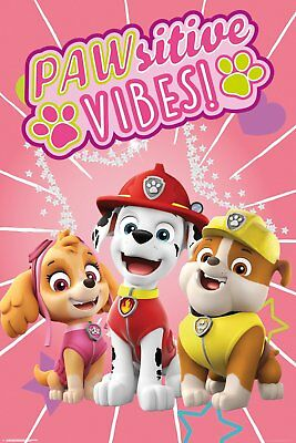 FP4699 PAW PATROL Pawsitive Vibes Maxi Poster Print 61x91.5cm | 24x36 inches