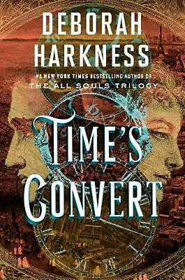 Time's Convert by Deborah Harkness (English) Hardcover Book Free Shipping!