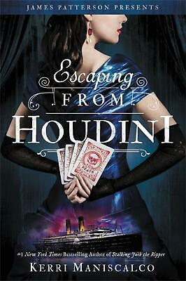 Escaping From Houdini by Kerri Maniscalco Hardcover Book Free Shipping!