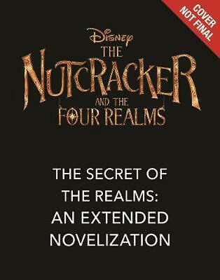 Nutcracker and the Four Realms by Disney Book Group Hardcover Book Free Shipping