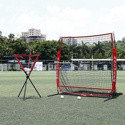 55x55cm Baseball Net Softball Batting Cage Practice Ball Nylon Net Equipment DE