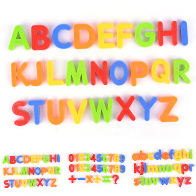 Magnetic Letters And Numbers Alphabet Number Fridge Magnet Kids Toy Gift