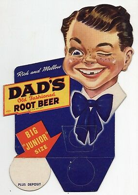 Vintage Dad's Old Fashioned Root Beer Sign