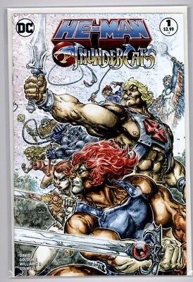 1st PRINT NM SOLD OUT DC OF 6 HE-MAN THUNDERCATS 2