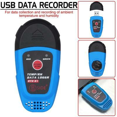 BSIDE BTH81 USB Temperature Humidity Data Logger Thermometer Hygrometer Recorder