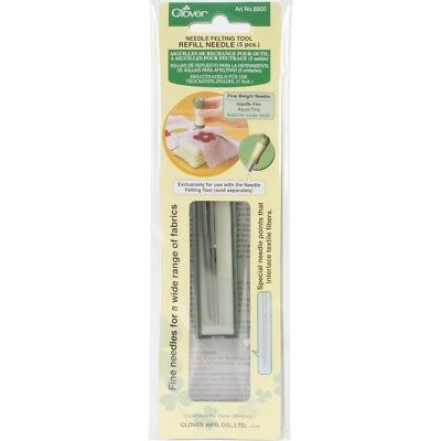 Felting Needle Tool Refill Needles - Fine Weight - Clover