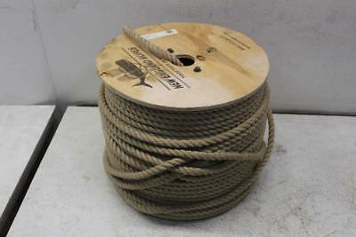 New England Ropes - 7000-16-00600 -1/2 In x 600 Ft. - Vintage 3 Strand Poly Rope