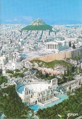 Athens - Aerial View (Ref.3) - Posted Postcard