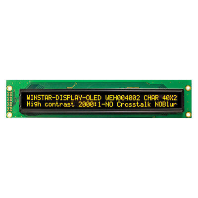 Winstar WEH004002ALPP5N00000 40x2 Yellow OLED Character Display