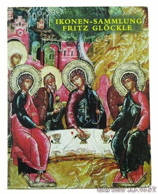 BOOK Russian Icon Collection Fritz Glockle medieval painting metal oklad Moscow