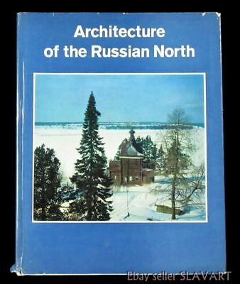 BOOK Architecture of the Russian North medieval wooden church stone monument art