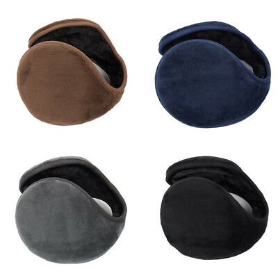 Solid Color Women Men Ear Cover Protector Thicken Plush Winter Warm Earmuff Hot