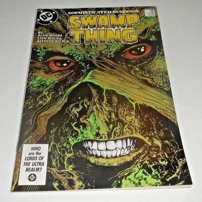 Swamp Thing #49 COPPER AGE KEY 1st Justice League Dark  Movie Coming!  VF / NM