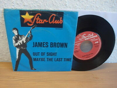 James Brown  Out Of Sight Maybe The Last Time  Rare 1964 Star-Club-Single
