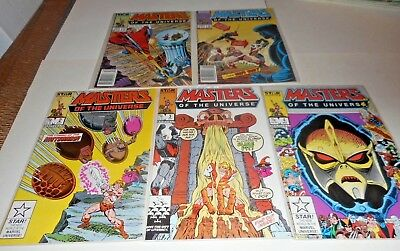 Masters Of The Universe MARVEL Star Comics LOT   HIGH GRADE!!