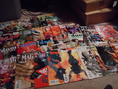 Lot Of 30 DC Comic Books - Teen Titans Justice, League of america, Doom Patrol +