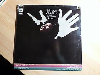 "12"" LP - Mahalia Jackson - You'll Never walk alone - CBS S 5206 (9 songs)"