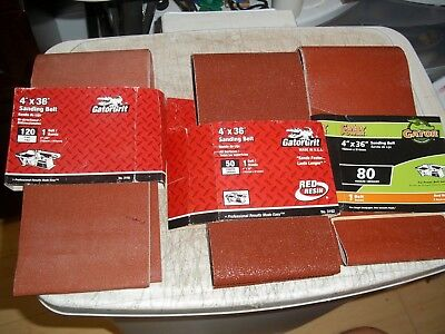 """10pc 6/"""" X 48 /"""" 36 GRIT SANDING BELT made in USA Butt Joint Heavy Duty sand paper"""