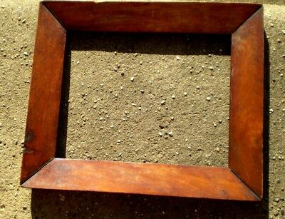 19th Century Small Picture Frame - Walnut Veneer