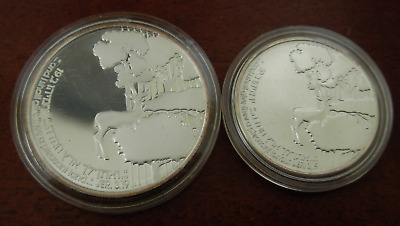 Israel 1989 Silver 2 and 1 Silver Sheqalim 41st Anniversary of Independence