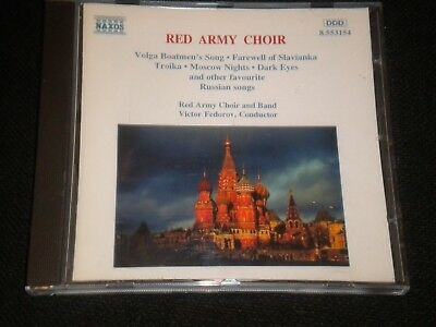 Red Army Choir - Russian Favourites - CD Album - 1996 - 18 Great Tracks
