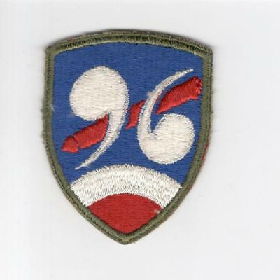 WW 2 US Army 96th Chemical Mortar Battalion Patch Inv# G069