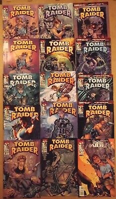Laura Croft Tomb Raider #1, more...lot of 15 Top Cow/Image Comics