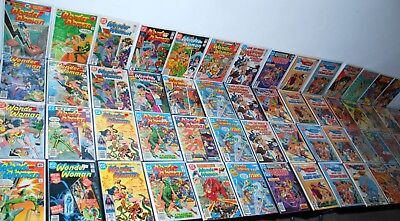 1976-89 Dc Wonder Woman #225-328 + Annuals 1 2 High Grade Lot /59 Fn/vf-Nm+ L12