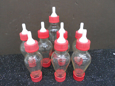 Lot Of 8 Mettler Toledo (7) 250 Ml Separator Funnel Glass Bottles