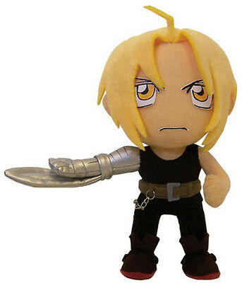 Fullmetal Alchemist Official Genuine Edward Armblade Doll Plush *NEW*