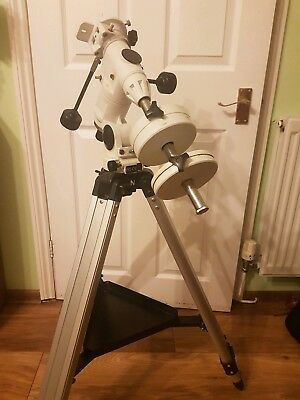Skywatcher EQ3-2 Equatorial Mount With Aluminium Tripod Silver