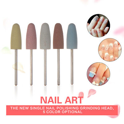 FJ- LC_ Women Nail Art Polishing Grinding Head Tool Manicure Electric Drill Bit