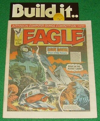 EAGLE COMIC - 3rd DECEMBER 1983 + AD MAIL