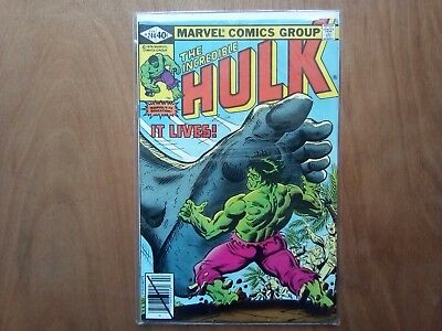 INCREDIBLE HULK VOL.1 #244 MARVEL COMICS FEB 1980 1st PRINT CENTS COPY FINE COND