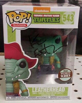 LEATHERHEAD POP #543 - Signed Kevin Eastman - FUNKO - SPECIALTY SERIES