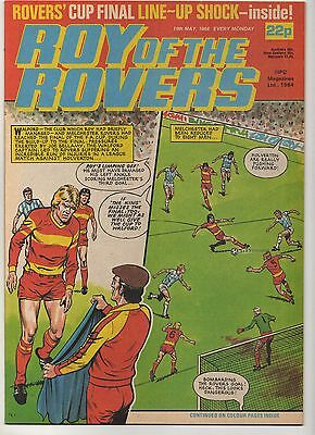 ROY OF THE ROVERS 19th MAY 1984 EXCELLENT CONDITION